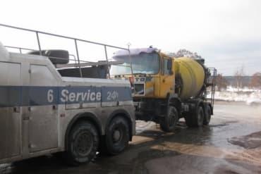 Эвакуация бетоновоза
