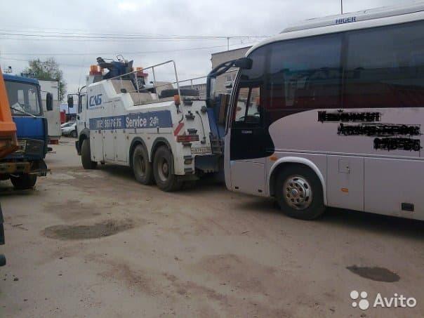Эвакуация автобусов и пассажирского транспорта