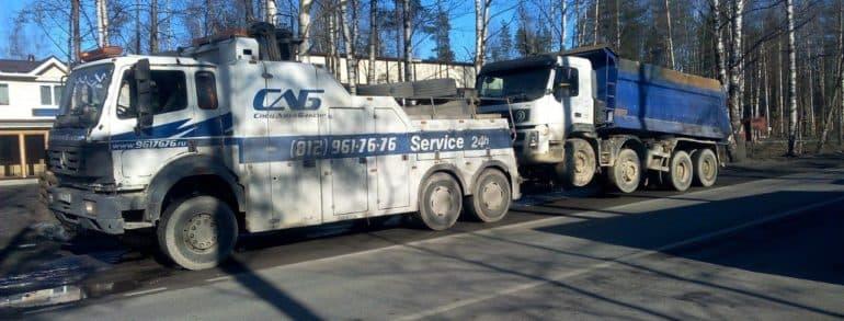 Грузовая эвакуация в СПб и области