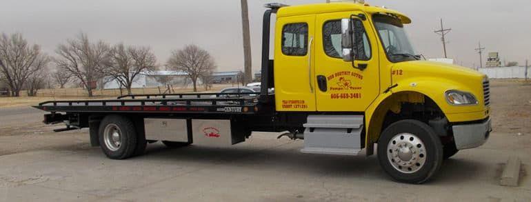Особенности эвакуации грузового автомобиля